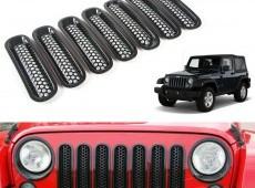 Jeep Wrangler Ön barmaqlığı və Fara örtüyü