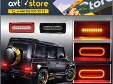 """Mercedes-Benz G-wagen"" arxa led stop"