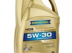 RAVENOL HDS Hydrocrack Diesel Specific SAE 5W-30
