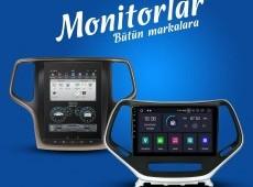 Amerikan avtomobillərinin monitorları