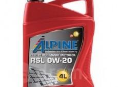 Alpine, 0W-20, 4L