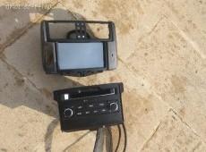 Toyota Prado monitoru