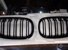 BMW E60 radiator barmaqlıqı