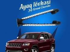 Jeep Grand Cherokee ayaq lövhələri