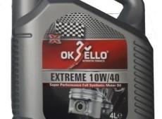 Oksello 10w40,Tam Sentetik Cl4,4L
