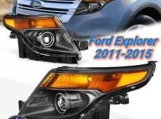 Ford Explorer, yeni stil faralar