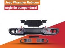 Jeep Wrangler Rubicon style ön bumper dəsti