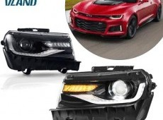 Chevrolet camaro led faraları