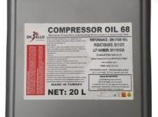 Oksello Kompressor Yağı 68, 20 LT