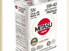 Mitasu Platinum 5W-30, 5W-40 motor yagları