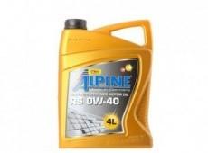 Alpine, 0W-40, 4L