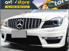 Mercedes W204 GT radiator barmaqlığı