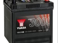 Yuasa YBX3000 SMF YBX3108 12V 50Ah 400A
