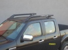 BLACK ROOF RAILS NAVARA-PB003