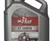 Oksello 20w50 sentetik 4T CI-4,4L