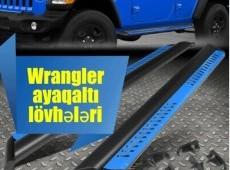 Jeep Wrangler ayaqaltı lövhələri