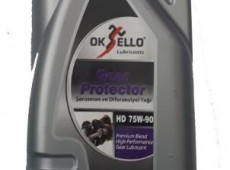 Oksello 75w90 Tam Sentetik Gear Oil 1L