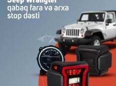 Jeep Wrangler fara, arxa stop dəsti