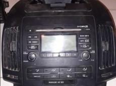 Hyundai i30 audio, knopkalar