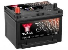 Yuasa YBX3000 SMF Batteries  YBX3113 12V 50Ah 530A