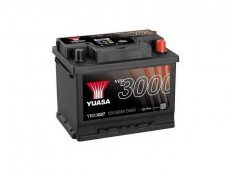 Yuasa Battery 60Ah 12V 550A, YBX3027-060 KR
