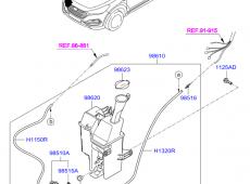 Hyundai ix35, su baçoku