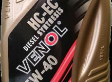 Venol, 5W40 (DIZEL), 1L