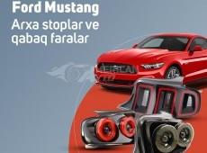 Ford Mustang fara, stop