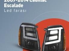Cadillac Escalade led fara