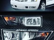 Cadillac Escalade led duman isiqlari